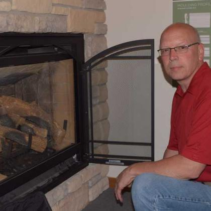 Contect Todd Kruis for Heat-n-Glo Fireplace service, sales and installation